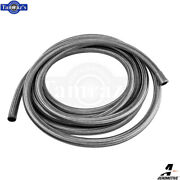Aeromotive Rubber Stainless Braided Fuel Line 20 Feet -10an