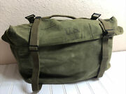 Us Army M1945 Field Pack Cargo Lower Bag | Dated 1951 M-1945 M45 Korean War