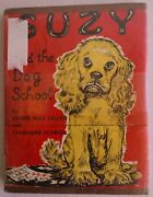 Suzy And The Dog School Vintage Book By Esther Mac Lellan 1953 Hc 1st Edition