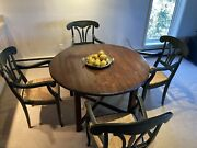 Guy Chaddock The Melrose Collection 48andrdquo Wood Dining Table