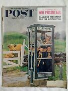 Saturday Evening Post Aug 26 1961 Cub Scouts In Phone Booth Why Prisons Fail