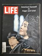 Life Magazine 1968 April 19 Martin Luther King's Funeral, Civil Rights, Mlk