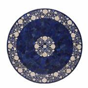 42 Marble Dining Table Top Inlay Rare Semi Round Center Coffee Table Ar0675