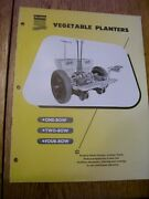 Vintage Oliver Corp Advertising Brochure - 1 - 4 Row Vegetable Planters-1953