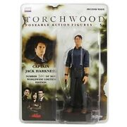 Torchwood Captain Jack Harkness 2009 Sdcc Action Figure New Doctor Dr Who Rare