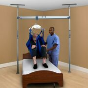 Prism Medical - Handicare 2 Post Pressure Fit Lift System With Swivel Trolley
