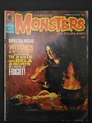 Famous Monsters Of Filmland Magazine 1970 July 67 Witches And Witchcraft