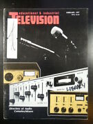 Educational And Industrial Television Magazine 1977 Feb Audio Consoles/mixers Dir