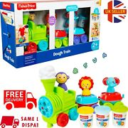 Fisher Price Preschool 2+ Dough Train Play Toy Animal Stampers 🇬🇧 Seller