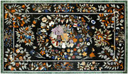 54 Marble Dining Table Top Inlay Rare Semi Antique Center Coffee Table Ar0751
