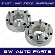 2 Pcs 6x5.5 To 5x150 Hub Centric Conversion Adapters 2 Tundra Wheel To Chevy