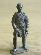 Vintage Rare 19th Century Lead Soldier 2.4'' Lead Color Army Tin Toy Not Painted