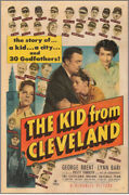 Kid From Cleveland Original Vintage One Sheet Movie Poster