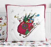 Pottery Barn Dr. Seuss Quilt Euro Sham Sold Out/no Longer Available
