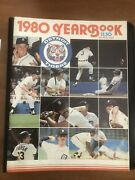 1980 Detroit Tigers Yearbook Great Condition Trammell Morris Sparky Gibson Lou