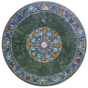 36 Marble Dining Table Top Inlay Rare Semi Round Center Coffee Table Ar0887