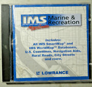 Lowrance Inland Mapping System Marine And Recreation Map Create Pc Computer Cd Gps