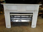 Salvaged Antique Fireplace Mantel 1800and039s House In New York