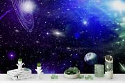 3d Space Galaxy Wallpaper Wall Mural Removable Self-adhesive Sticker 320