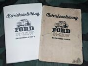 Wwii German 1941 Ford V3000s Reproduction Service Manual 1940s Truck Vehicle Lkw
