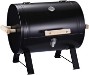 New 20 Mini Small Smoker Charcoal Grill Side Fire Box, Portable Outdoor