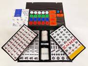 Mahjong Tiles Complete Set Amos Max Color/ yellow Back Color Of Tile New