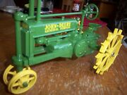 John Deere A From 1934 By Ertl - 50th Anniversary Comm. Edtn. With Steel Wheels