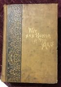 Wit And Humour Of The Ages 1901 Star Publishing Chicago Hard Cover Illustrated