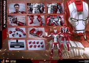 Hot Toys Marvel Iron Man 2 Mark V 5 Diecast Mms 400 With Shipper In Hand