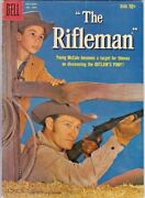The Rifleman 1 / Four Color 1009 Dell Chuck Conners - Johnny Crawford