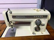 Vintage Sears Kenmore Portable Sewing Machine With Foot Pedal Model 158. 13571