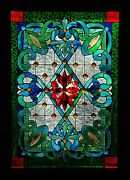 Victorian Heritage Stained Glass Leadlight Front Door / Window Hand Crafted