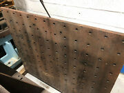 Machine Angle Plate Drilled And Tapped Boring Mill