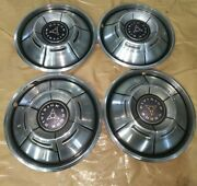 1960and039s-1970and039s Dodge Division Hubcaps Set Of 4 Wheel Covers