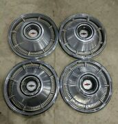 1966 Chevy Impala Bel Air 14 Wheel Covers Hubcaps Set Of 4
