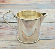 Early English Sterling Silver Milk Pitcher