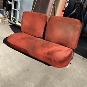 Rare 1973-1979 Ford Truck Seat Extended Cab Split Back Bench F150 F250 F350