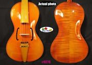 Baroque Style Song Maestro 5 Strings 17 Viola For Profession Concert 9279