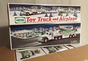Hess 2002 Collectible Toy Truck And Airplane – Nib - Only One Left