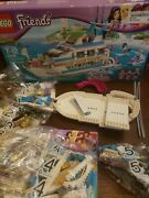 Lego Friends Dolphin Cruiser 41015 Open Box Sealed Bags