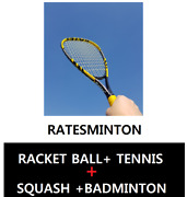 Entn Ratesminton Very Exciting Return Ball Sports For Diet Double Set