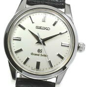 Seiko Grand Seiko Sbgw001/9s54-0030 Silver Dial Hand Winding Menand039s Watch_595334