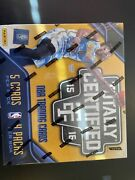 2015-16 Totally Certified Sealed Hobby Box5 Cards X 4 Packs/4 Hits Per Box.