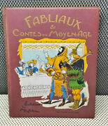 Old Book Fabliaux And Contes The Medium Age 1930 Illustrations A.robida