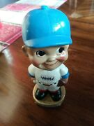 Vintage 1968 Milwaukee Brewers Bobble Head Doll Nodder By Sports Specialties