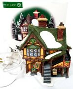 Dept 56 Wingham Lane Parrot Seller 58446 Dickens Village With Box And Light Vgc