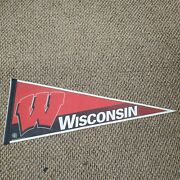 University Of Wisconsin Badgers Wincraft Full Size Pennant Flag