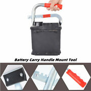Adjustable Battery Power Carry Saving Handle Clamp Tool Case Adapter Mount