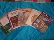 5 Vintage Illustrated With Price Guides Books On Antiques And Collectibles