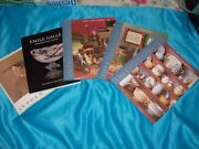 5 Vintage Books Offering Pictures And Price Guides For Antiques And Collectibles